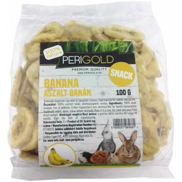 Perigold Dried Snack Banana 100g