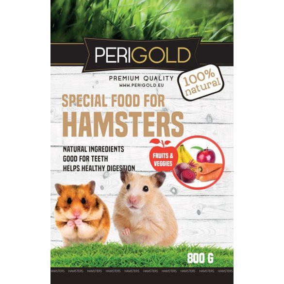 Perigold Hamster Fruit&Veggies Food 800g