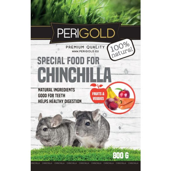 Perigold Chinchilla Fruit&Veggies Food 800g