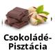 Csokoládé-Pisztácia